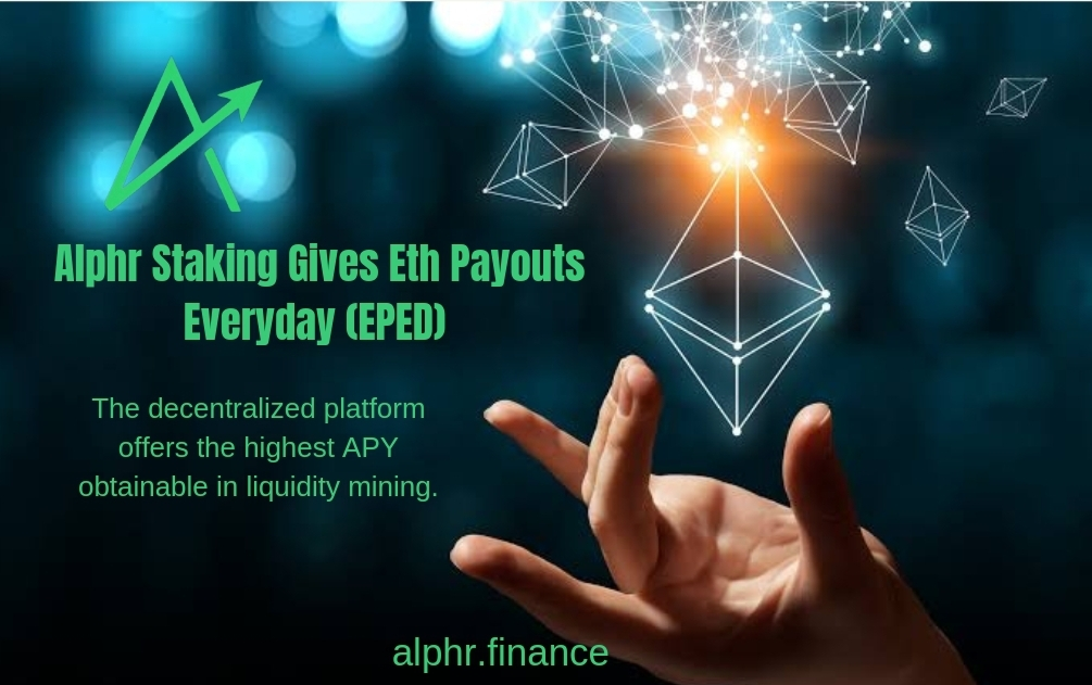 Alphr Attained The No1 Spot For ETH Staking